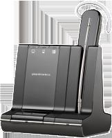 Savi 745-M Schnurloses DECT-Headset-System für Festnetz, PC und Mobiltelefon