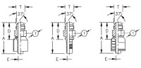 AEROQUIP 1S8MJ6