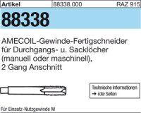 AMECOIL-Gew.-Fertigbo. M10x1,25