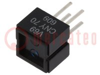 Sensor: optoacoplador; 32V; CTR@If:5%@20mA; Sal: transistorizados