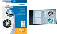 HERMA CD-/DVD-Prospekthülle für 2 CD's, A4, PP, transparent (6500513)