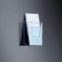 Wand-Prospekthalter acrylic, mit 1 Fach_klh117_1