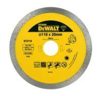 DeWalt Diamanttrennscheibe DWC410 Granit 110mm # DT3715-QZ
