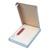 PERGAMY Boîte de 100 Pochettes d'expédition document ci-inclus - Format C6 : 165 x 115 mm transparent