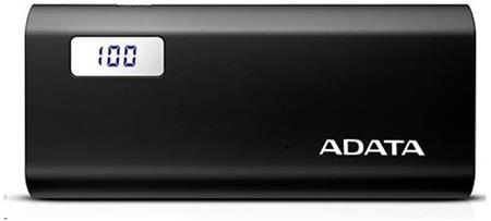 ADATA Technology ADATA P12500D Power Bank 12500mAh, černá AP12500D-DGT-5V-CBK