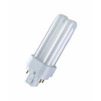 Osram Kompakt-Leuchtstofflampe Dulux D/E 18W/830 G24q-2 warmwhite