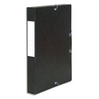 5 ETOILES Bo�te de classement � �lastique en carte lustr�e 7/10, 600g. Dos 40mm. Coloris noir.