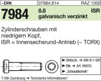 DIN7984 M5 x 12|mm