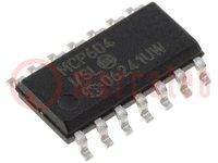 Amplificador operativo; 2,8MHz; 2,7÷5,5V; Canales:4; SO14