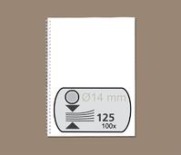 DRAADRUG GBC 14MM US 21RINGS A4 ZILVER