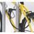 Detailansicht:, optimierte Diebstahlsicherung - Befestigung am Rahmen