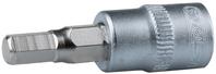 """1/4"""" Bit-dopsleutel binnenzeskant, 8mm"""