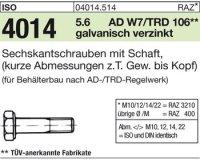 ISO4014 M10x50