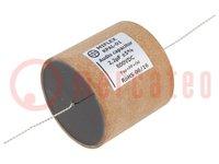 Kondensator: Aluminium-Polypropylen-Papier; 2,2uF; 600VDC; ±5%