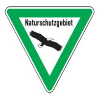 Modellbeispiel: Natur- und Umweltschutzschild, (Naturschutzgebiet) Art. uw050005s20
