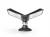 DURABLE Sichttafelsystem SHERPA® MOTION 10, schwarz
