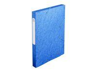 CARTOREL BOX FILE BLUE CARTOBOX 30MM PAPER 240X320MM