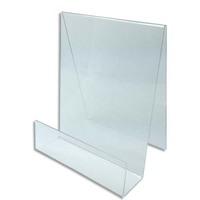 DEFLECTO Chevalet pour documents A4 à poser. En PMMA. vertical. Dim. L19 x H29 x P18 cm