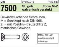 DIN7500 MM2,5x16-Z