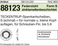 TECKENTRUP-Sperrkants. S4x8,2x0,8