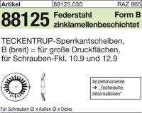 TECKENTRUP-Sperrkants. B12x32,3x2,8