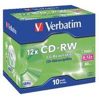 Verbatim CD-RW 8-12x 700 mb 10 stuks