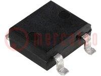 Einphasen Brückengleichrichter; Urmax:400V; If:1A; Ifsm:50A; DFS