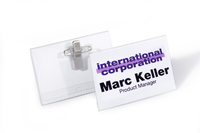 Durable 815719 badge et porte-badges Badge nominatifs 50 pièce(s)