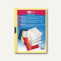 Veloflex Klemmmappe VELOCLIP® DIN A4, Hart-PVC, Metallclip, gelb