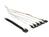 Kabel mini SAS SFF-8087 an 4 x SATA 7 Pin + Sideband 1 m Metall, Delock® [83314]