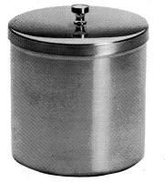 Wattebehälter m. Knopfdeckel, 100x100mm