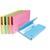 EXACOMPTA Paquet de 50 chemises � poche Nature Future, en carte jura 220g, assortis pastel