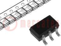 IC: digitális; 3-állású, buffer, inverter, multiplexer; CMOS, TTL