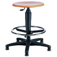 Arbeitshocker TOPSTAR FACTORY 700 plus, mit Sitzhöhenverstellung, Gewicht 6 kg, Sitzhöhe 59-84 cm