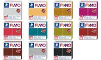 FIMO EFFECT LEATHER Modelliermasse, elfenbein, 57 g (57890489)