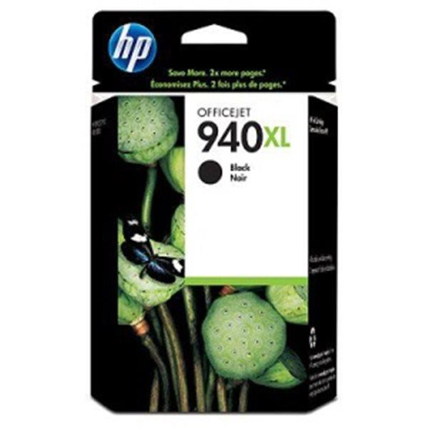 HP 940 XL - černá inkoustová kazeta, C4906AE