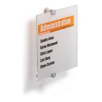 Türschild CRYSTAL SIGN