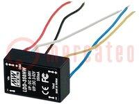 Transductor: CC/CC; 36W; Uentr:9÷56V; Usal:2÷52VCC; Ientr:650mA