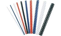 Fellowes Plastikbinderücken, DIN A4, 21 Ringe, 8 mm, rot (5353456)