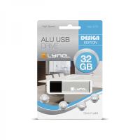 xlyne 177561-2 USB-Stick 32 GB USB Typ-A 2.0 Silber