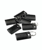 TimeMoto by Safescan RF-110 Key Fobs RFID for TimeMoto & Safescan Terminals Black Ref 125-0604 [Pack 25]