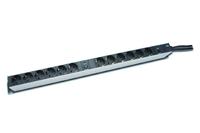 Digitus® Aluminium Steckdosenleiste mit Überspannungsschutz, 12-fach [DN-95405]