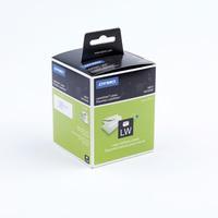 Thermoetikett für Etikettendrucker Adressetikett, 89 x 36 mm, weiß, 260 Stück