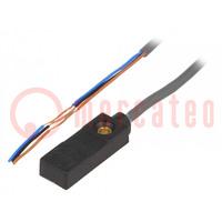 Senzor: indukčný; 0÷3mm; NPN / NO; Unap:10÷30VDC; 100mA; kábel 2m