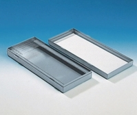25slides Microscope slide boxes Width 83 mm Length 98 mm Height 38 mm