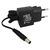 Sieťový adaptér, AD PDC EU, 220V (el.síť), 6V, 300mA, napájanie kalkulačiek, Rebell