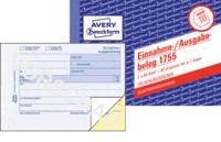 Einnahme/Ausgabebeleg, 1. und 2. Blatt bedruckt, SD, DIN A6 quer, 2x40 Blatt