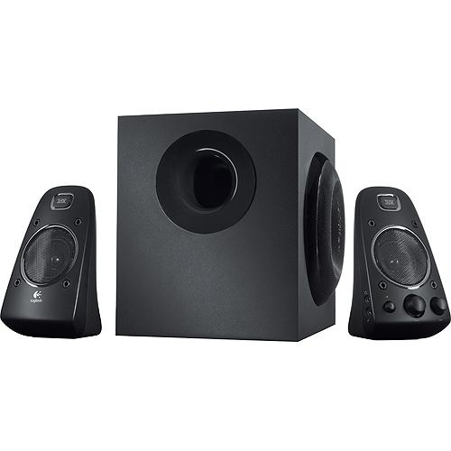 Logitech reproduktory Z623, 2.1, 400W, černé, regulace hlasitosti, pro Notebooky, pro PC, Subwoofer 130W 980-000403