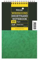 Silvine Notebook Twinwire Reporters Hardcover Perforated Ruled 400 Pages 75gsm 125x200mm Ref 441 [Pack 6]