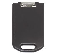 Clipboard A4 plastic with pocket, wide